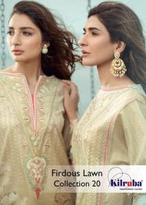 KILRUBA FIRDOUS LAWN COLLECTION 20 BEST PRICE