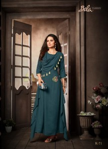 BELA STELLA BRANDED KURTI WHOLESALER IN SURAT