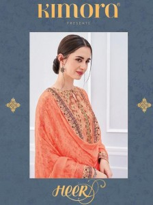 KIMORA FASHION HEER VOL 42 LATEST DESIGNER SUITS BUY ONLINE IN INDIA