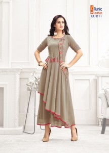 TUNIC HOUSE JEENAT VOL 1 KURTI WHOLESALE CHEAPEST