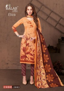 BALAJI COTTON ELIZA VOL 3  COTTON SUITS