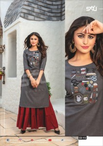 S4U CASUAL DIARIES KURTIS WHOLESALER IN INDIA