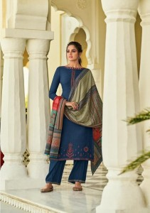 MUMTAZ ARTS JAMAWAR NX PASHMINA SUITS