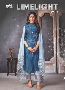 S4U LIMELIGHT VOL 3 FANCY KURTIS WHOLESALE
