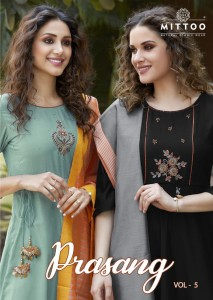 MIITTOO PRASANG VOL 5 KURTIS CATALOGUE