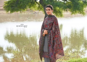 MUMTAZ ARTS CASHMERE PASHMINA SUITS FOR WINTER