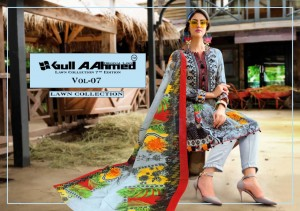 GULL AAHMED VOL 7 ORIGINAL DESIGNER PAKISTANI SUITS IN INDIA