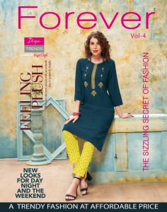 DIYA TRENDS FOREVER VOL 4 KURTIS AT BEST PRICE