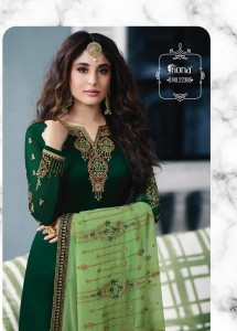 FIONA KRITIKA HEAVY DUPATTA  WHOLESALE DRESS MATERIAL CATALOGUE