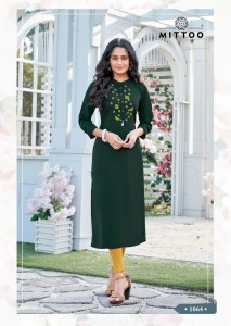 MITTOO FENTASTIC VOL 4  KURTIS COLLECTION