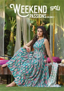 S4U WEEKEND PASSIONS VOL 5 KURTIS NEW CATALOGUE