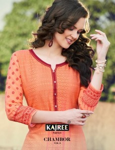KAJREE FASHION CHAMBOUR VOL 5 MANUFACTURING PRICE