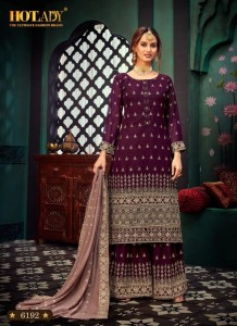 HOTLADY SAMAIRA VOL 2 6191 TO 6197 HEAVY SUITS