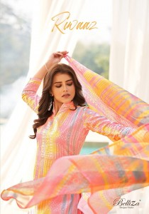 BELLIZA RIWAAZ 513-001 TO 513-010 PAKISTANI SUITS