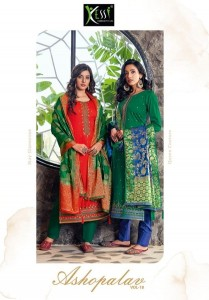 KESSI FABRICS ASHOPALAV VOL 18 SUITS COLLECTION