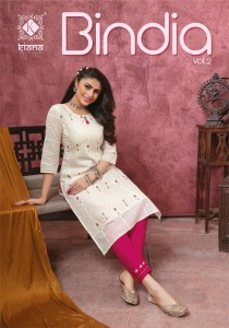 KIANA BINDIA VOL 2 KURTIS COLLECTION