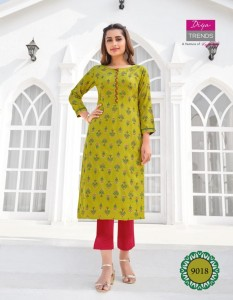 DIYA TRENDZ GARDENCITY VOL 9 KURTIS NEW CATALOGUE