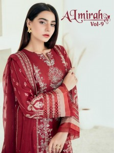 SHREE FABS ALMIRAH VOL 9 PAKISTANI SUITS AT BEST PRICE