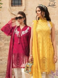 LEVISHA MARIA B LAWN PAKISTANI SUITS WHOLESALER