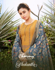 MEERA TRENDZ CHARMY SHAKUNTLA 2631-2636 SALWAR SUITS COLLECTION