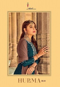 EBA LIFESTYLE HURMA VOL 34 HEAVY SUITS COLLECTION