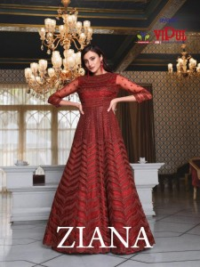 VIPUL ZIANA DCAT 55 HEAVY GOWN AT WHOLESALE RATE