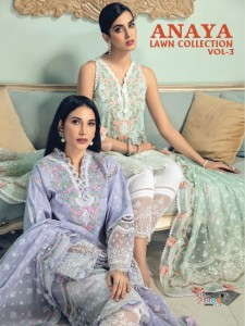 SHREE FABS ANAYA LAWN COLLECTION VOL 3 BEST PRICE