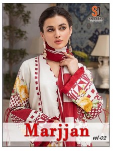 SHARADDHA MARJJAN VOL 2 LAWN COLLECTION PAKISTANI SUITS WHOLESALER