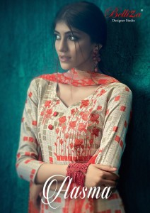 BELLIZA DESIGNER STUDIO AASMA WHOLESALE PASHMINA SUITS