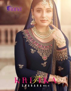 SHARARA VOL 3 KRITIKA FIONA SURAT WHOLESALER