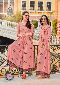 KAJAL STYLE FASHION FESTIVE SEASONS VOL 3 KURTIS ONLINE SHOPPING