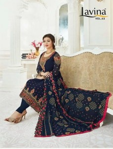 LAVINA VOL 53 SUIT CATALOGUE COLLECTION SURAT CHEAPEST