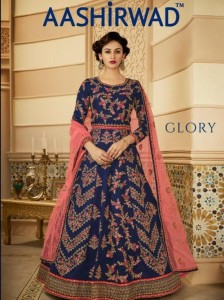 AASHIRWAD CREATION GLORY HEAVY LEHENGA SUPPLIER