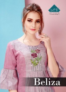 STF BELIZA COTTON KURTIS WHOLESALER