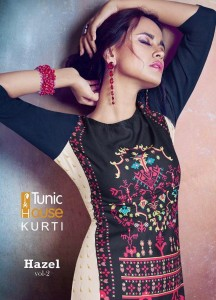 TUNIC HOUSE HAZEL VOL 2 KURTI WHOLESALE CHEAPEST