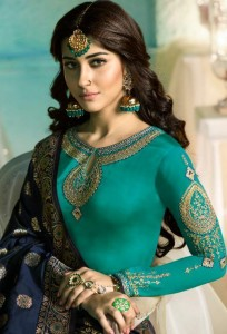 GLOSSY SIMAR NAAM SHABANA DRESS MATERIAL AT BEST PRICE