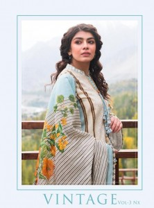 SHRADDHA DESIGNER VINTAGE VOL 3 NX WHOLESALE SUITS COLLECTION