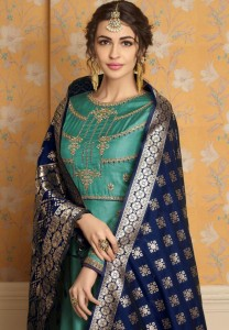 EBA LIFESTYLE BANARAS VOL 1 GOWN DRESS WITH PRICE