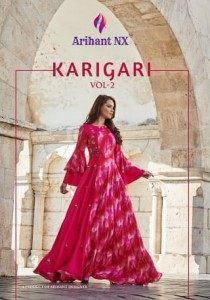 ARIHANT DESIGNER KARIGARI VOL 2 KURTIS SUPPLIER