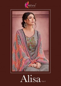 KESARI TRENDZ ALISA VOL 3 DESIGNER SUITS AT CHEAPEST RATE