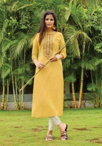 RANGOON LIGHT LINE KURTIS WHOLESALER