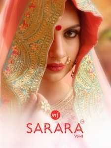 MAHAVEER FASHION SARARA VOL 8 ONLINE SHOPPING WHOLESALE PRICE
