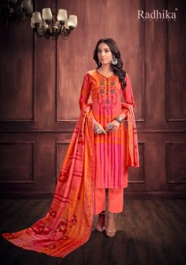 MUSSARET VOL 3 BY RADHIKA FASHION COTTON DRESS MATERIAL