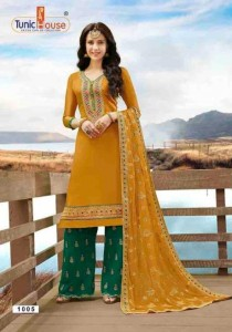 TUNIC HOUSE ALIZA UPADA DRESS MATERIAL AT WHOLESALE PRICE