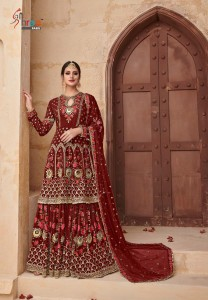 SHREE FABS SHEHNAI GOLD BRIDAL COLLECTION