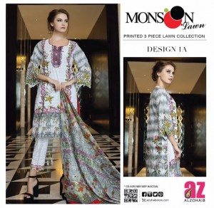 AL ZOHAIB MONSOON LAWN VOL 3 PAKISTANI LAWN SUITS CHEAPEST