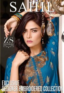 ZS SAHIL VOL 4  PAKISTANI LAWN DRESS MATERIAL AT BEST PRICE