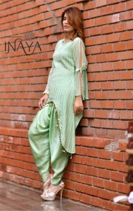 INAYA LUXURY PRET VOL 12 TUNIC WITH PALAZZO BY STUDIO LIBAS