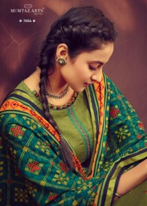 MUMTAZ ARTS IKKAT PATOLA NX PAKISTANI SUITS