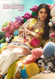 SHREE FABS SANA SAFINAZ MAHAY COLLECTION VOL 3 LAWN COLLECTION 2020
